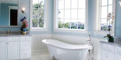 Mindre ombygning badeværelse